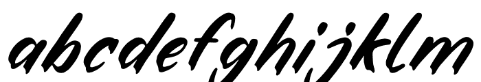 Fake Boss Font LOWERCASE