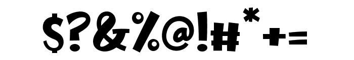 Fake Unicorn Font OTHER CHARS