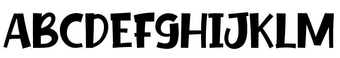 Fake Unicorn Font UPPERCASE