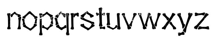 Falange Aged Font LOWERCASE