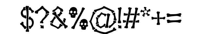 Falange Clean Font OTHER CHARS