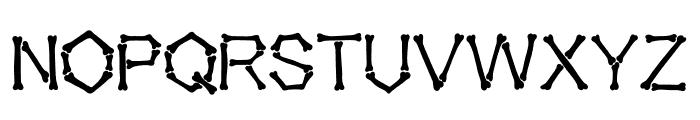 Falange Clean Font UPPERCASE