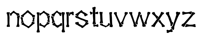 Falange Clean Font LOWERCASE