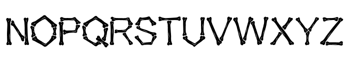 Falange Texture Font UPPERCASE