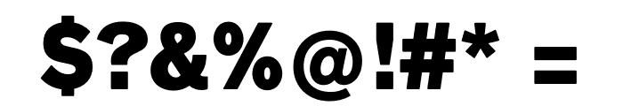 Faldore-Black Font OTHER CHARS