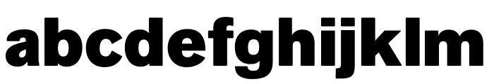Faldore-Black Font LOWERCASE