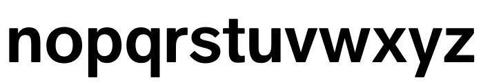 Faldore-SemiBold Font LOWERCASE
