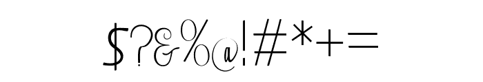 Falisha-04 Font OTHER CHARS