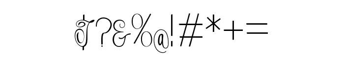 Falisha05 Font OTHER CHARS