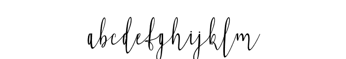 Falisha05 Font LOWERCASE