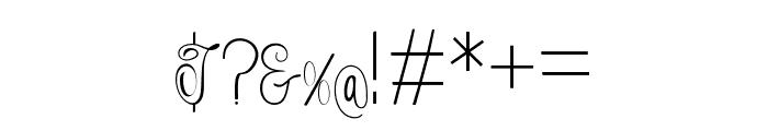 Falisha07 Font OTHER CHARS
