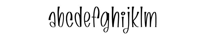 FallHarvest Font LOWERCASE