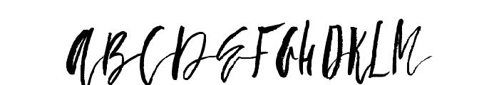 FallenAngel-Regular Font UPPERCASE
