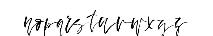 FallenAngel-Regular Font LOWERCASE