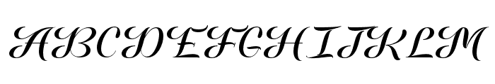FamiliarTasteofPoison-Regular Font UPPERCASE