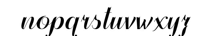 FamiliarTasteofPoison-Regular Font LOWERCASE