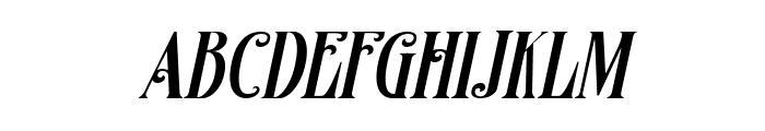 Famous flames Italic Font LOWERCASE