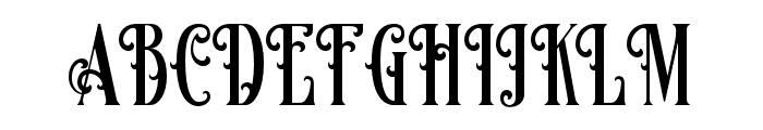 Famousflames Font UPPERCASE