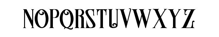 Famousflames Font LOWERCASE