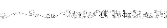 FantasiaDecorative Font LOWERCASE