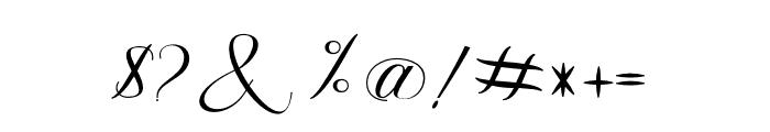 Fanya Font OTHER CHARS