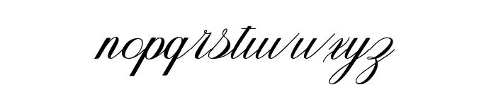 Fanya Font LOWERCASE