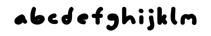 FattyFatty Light Font LOWERCASE