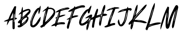 Fearless Art Font UPPERCASE