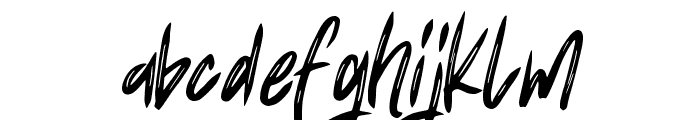 Fearless Art Font LOWERCASE