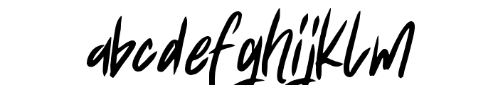 Fearless Font LOWERCASE