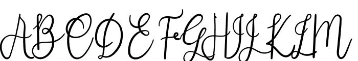 Febriana Font UPPERCASE