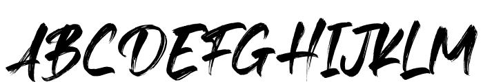 Fedattona Font UPPERCASE