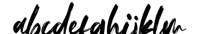 Fedattona Font LOWERCASE