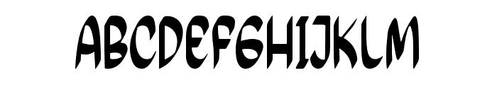 Feel Calm Font UPPERCASE