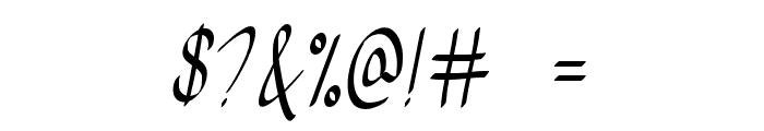 FeelMyHeart Font OTHER CHARS
