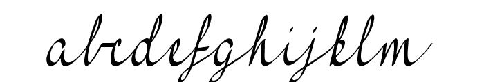 FeelMyHeart Font LOWERCASE