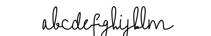 Feeling Beiges Font LOWERCASE
