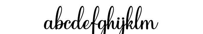 Feeling Blessed Font LOWERCASE
