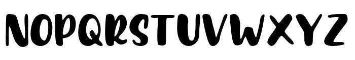 Feeling Tropica Font UPPERCASE