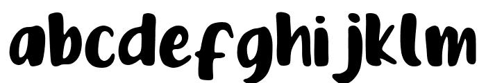 Feeling Tropica Font LOWERCASE