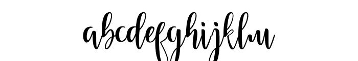 Feelling Font LOWERCASE
