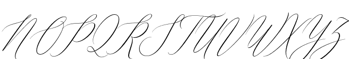 Feelsmooth Font UPPERCASE
