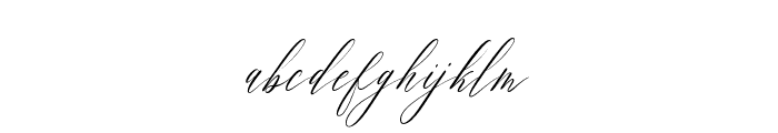 Feelsmooth Font LOWERCASE