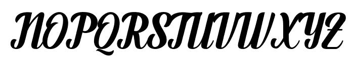 Fendysa Font UPPERCASE