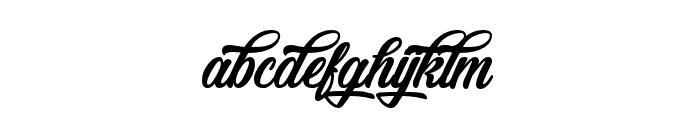 Feondra-Script Font LOWERCASE