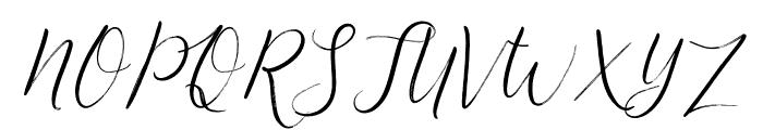 FestiveScript-RoughInk Font UPPERCASE