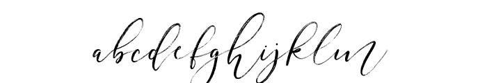 FestiveScript-RoughInk Font LOWERCASE