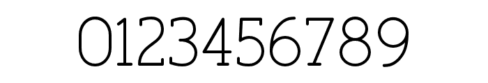 FinalistRoundSlab-45LightDemo Font OTHER CHARS