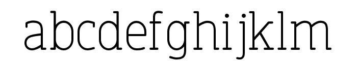 FinalistRoundSlab-45Light Font LOWERCASE