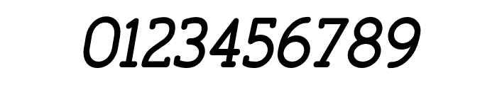 FinalistRoundSlab-65MediumItalic Font OTHER CHARS